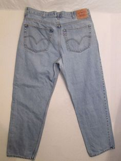 #962 * Size 38X32  *  Levi Strauss & Co. * 550 * Relaxed Fit Jeans…