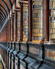 Trinity College, Dublin  I had the extreme pleasure to visit here recently.  Such an incredible thrill.