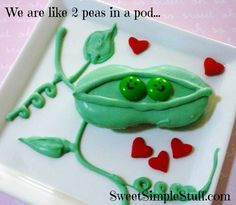 Nutter Butter Pea Pods ....perfect for baby shower!!! :)