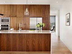 Wooden Kitchen Islands Black Modern Pendant Lamp White Acrylic Fiber  Draweru2026 Walnut Kitchen CabinetsContemporary ...
