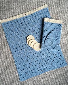 Der kom en bestilling på 2 håndklæder og 6 rondeller. Nu kan jeg da se, jeg har talt forkert - NÅ PY - 59astrid