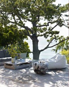 Courteney Cox's Private Retreat - ELLEDecor.com
