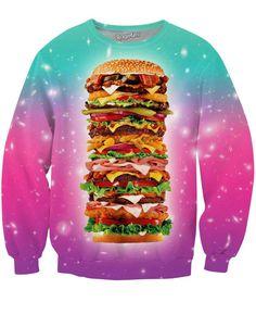 Super Burger Crewneck Sweatshirt