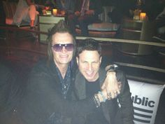 GH and Manager Paul Geary @ Universal/Republic Records Grammy Party