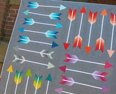 Image of POINTY pdf quilt pattern
