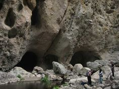 Malibu Creek's Rock Pool lies within the Santa Monica Mountains National Recreation Area