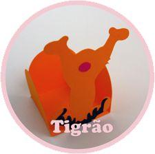 Forminhas Ursinho Puff (Pooh) - Tigrão