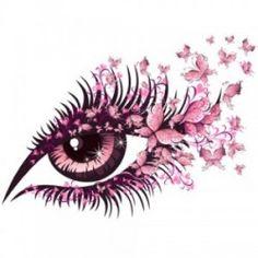 Image tableau 3D - Oeil design www.crea-lire.com