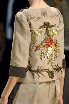 Antonio Marras, sardinian stylist | Milan Fashion Week Spring 2007
