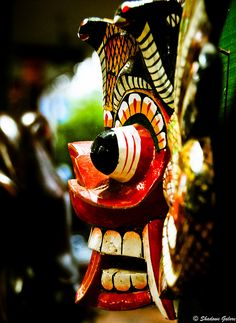 The Mask | Sri Lanka #travel