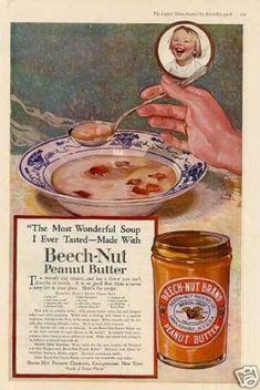 Beech-nut Peanut Butter Color (1918)