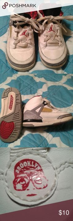 Jordans sneakers Nice pair of Jordans sneakers.   Good condition Jordan Shoes Sneakers