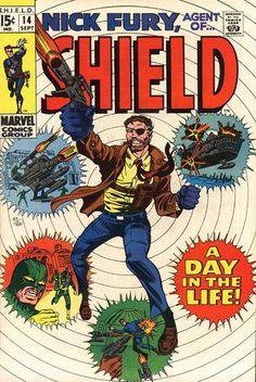 Nick Fury, Agent of S.H.I.EL.D. # 14 by Herb Trimpe & Sam Grainger