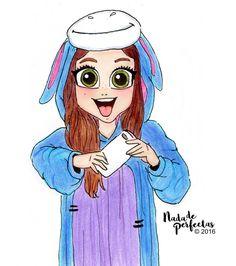 @KarolSevillaofc ❤ con su pijama de Eeyore o Igor, de Winnie the Pooh! ❤Muchas gracias a todos y a cada uno que estuvo participando enviandome su dibujo sobre este dibujo que publique hoy muy tempranito en facebook.com/nadadeperfectas! Y quiero...
