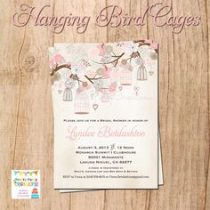 Hey, I found this really awesome Etsy listing at http://www.etsy.com/listing/154196571/hanging-bird-cage-and-flowers-invitation