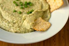 White Bean & Garlic Scape Hummus