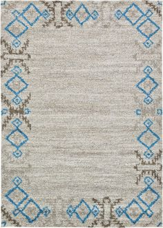 Ivory 5' 3 x 7' 6 Luxe Frieze Rug | Area Rugs | eSaleRugs