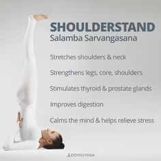 So many benefits to this class inversion! Why do you love to practice Shoulderstand?