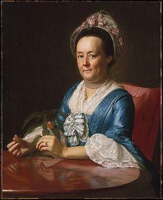 Mrs. John Winthrop by John Singleton Copley, 1773