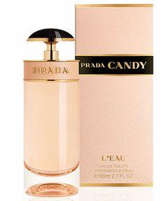 Prada Candy L'eau Eau de Toilette, 2.7 oz - SHOP ALL BRANDS - Beauty - Macy's