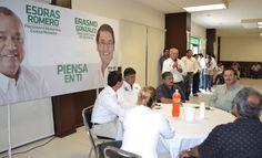FSTSE Se Compromete con Esdras Romero y Erasmo González.