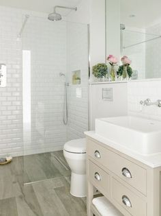 Explore Small Basement Bathroom Cabin Bathrooms and more! ... Bathroom Update Ideas: to update a fibreglass walk in shower with mosaic tile