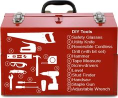 Toolbox: Tools for DIY home repairs. -Though taking on your home renovations can be a daunting task, DIY warriors, armed with the internet and a few simple tools, have been hitting the ground running.