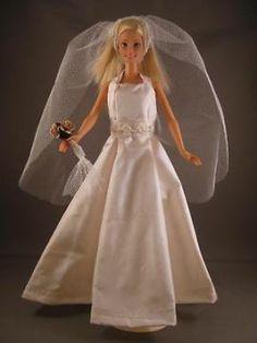 Dream Wedding. Zelfgemaakte Barbie kleding te koop via Marktplaats VERKOCHT