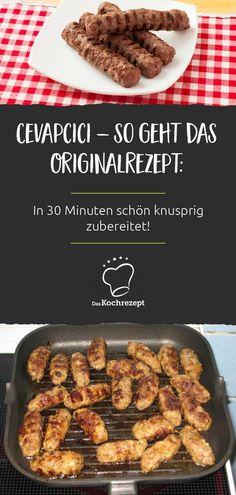 Newest Snap Shots low carb Meat snacks Concepts, Gabi& Cevapcici - that& the original recipe. Fingers Food, Food Words, Greek Recipes, Original Recipe, Food Items, Carne, A Food, Hamburger, Vegetarian