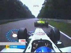 Classic Onboard Hockenheim Battle- Panis vs Trulli - 2001 German GP