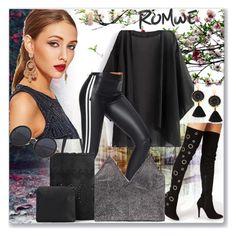"""www.romwe.com-LIII-9"" by ane-twist ❤ liked on Polyvore featuring romwe"