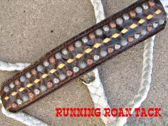 Chocolate Mule Tape Halter with Tan Aztec Leather Noseband and Matching Lead by Running Roan Tack Horse Halters, Cowgirl And Horse, Vuitton Bag, Horse Tack, Farm Life, Leather Working, Barrel, Addiction, Tape