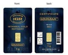 4X 1 Gram 999 9 24K Gold Bullion Bars with Certificate   eBay