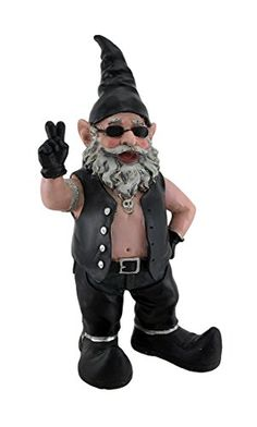 1000 Ideas About Biker Gnomes On Pinterest Harley