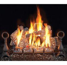 Sierra Birch Vented Gas Log Set Looks So Cozy Lounge