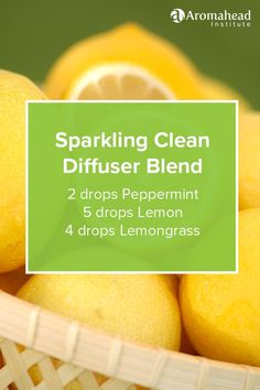 This diffuser blend is so uplifting and refreshing! Learn how to make similar household products in Aromatherapy for Natural Living: http://aromahead.com/courses/online/aromatherapy-for-natural-living: