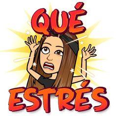 Funny Spanish Memes, Spanish Humor, Cute Cat Gif, Cute Cats, Cute Cartoon Girl, Emoji Stickers, Cute Girl Drawing, Funny Pictures, Drawings