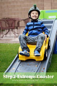 Step2 Extreme Coaster Toy Review #ad #step2kids #step2ambassador