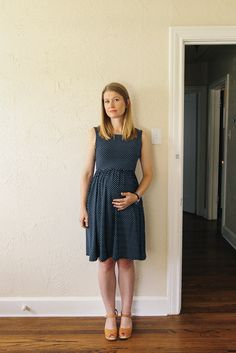 Variation of Moneta by Colette Patterns / Maternity version (Made this)