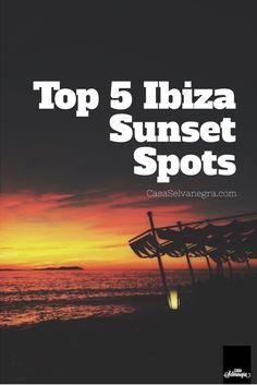 Sunset spots Ibiza