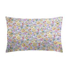 Liberty Print Bedding   Pillowcase   Betsy Yellow