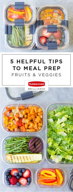 With fresh summer produce in full swing and back-to-school right around the corner, you can never have too many lunch packing hacks! Check out these 5 Helpful Tips to Meal Prep Fruits and Veggies using  Rubbermaid BRILLIANCE™ food storage containers from Target to make use of all the delicious ingredients available. A whole new world of quick recipe possibilities just opened up thanks to these reliable solutions!