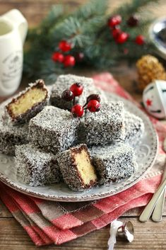 Juditka konyhája: ~ GLUTÉNMENTES KÓKUSZKOCKA ~ Cake Cookies, Pancakes, Sweets, Breakfast, Foods, Postres, Glutenfree, Sweet Pastries, Food Food