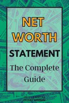 If you want to… Understand the definition of a net worth statement, Calculate your net worth, Obtain access to a free net worth template…Then continue reading this complete guide on net worth statements.