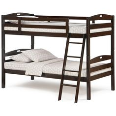 Xiorex Bunk Bed Night And Day Cinnamon Bunk Bed Twin W Drawers