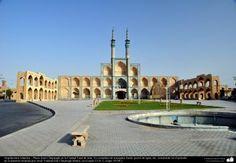 Arquitectura islámica  Plaza Amir Chajmagh en la Ciudad Yazd - 228