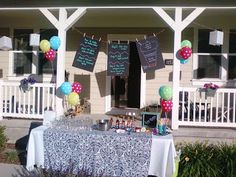 Soda lightful party! Lots of fun party ideas on this blog. Perfect for Relief Society or church socials.
