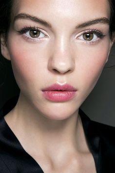 radiant fuchsia lips and cheeks / Dolce and Gabbana SS2014: