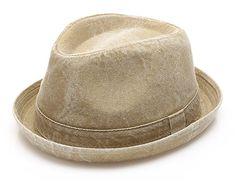 4e594ee5 MIRMARU Men's Denim Washed Cotton Casual Vintage Style Fedora Sun Hat at Amazon  Men's Clothing store: