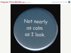Stressed Out Button, $2.55